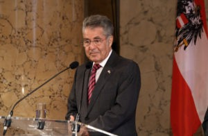 Heinz Fischer - Summer Olympics 2012, athletes' reception at the office of Austrias federal president