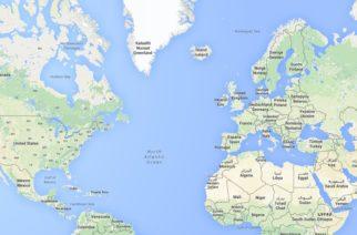 Našao NLO na Guglovim mapama