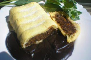 Fenomenalna čokoladna komisbrot pita sa sosom
