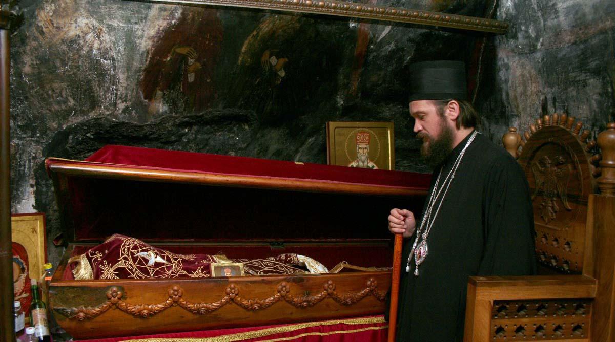 Mošti Svetog Vasilija u manastiru Ostrog