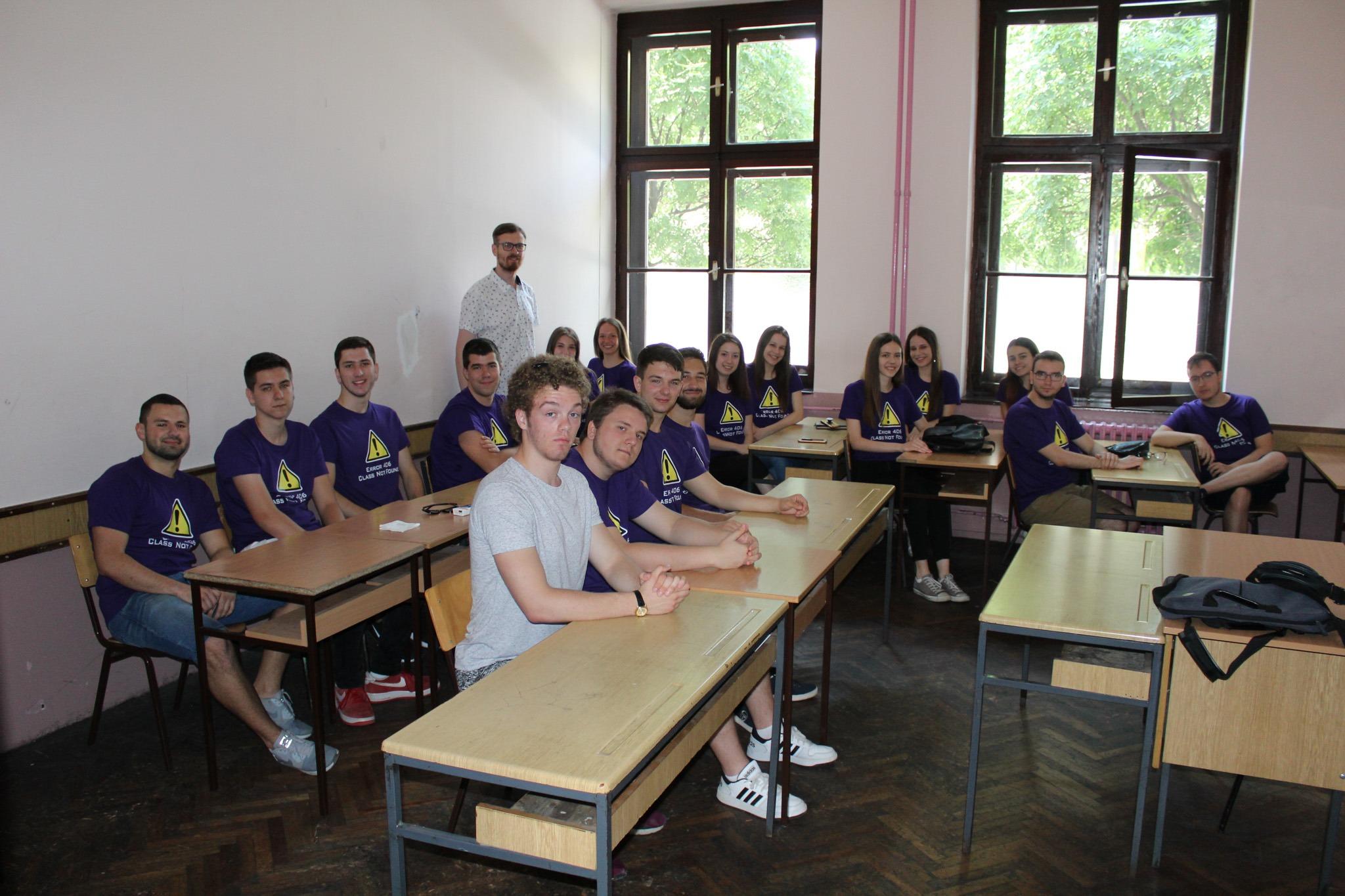 Učionica broj 14, mesto gde se nalaze genijalci
