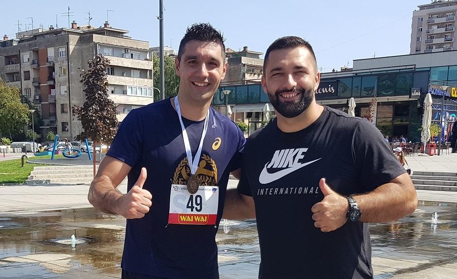 Predrag Ilić i Asmir Kolašinac