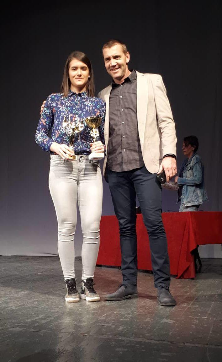 Katarina Gačević - Dodela priznanja najuspesnijim sportistima u 2017. god.