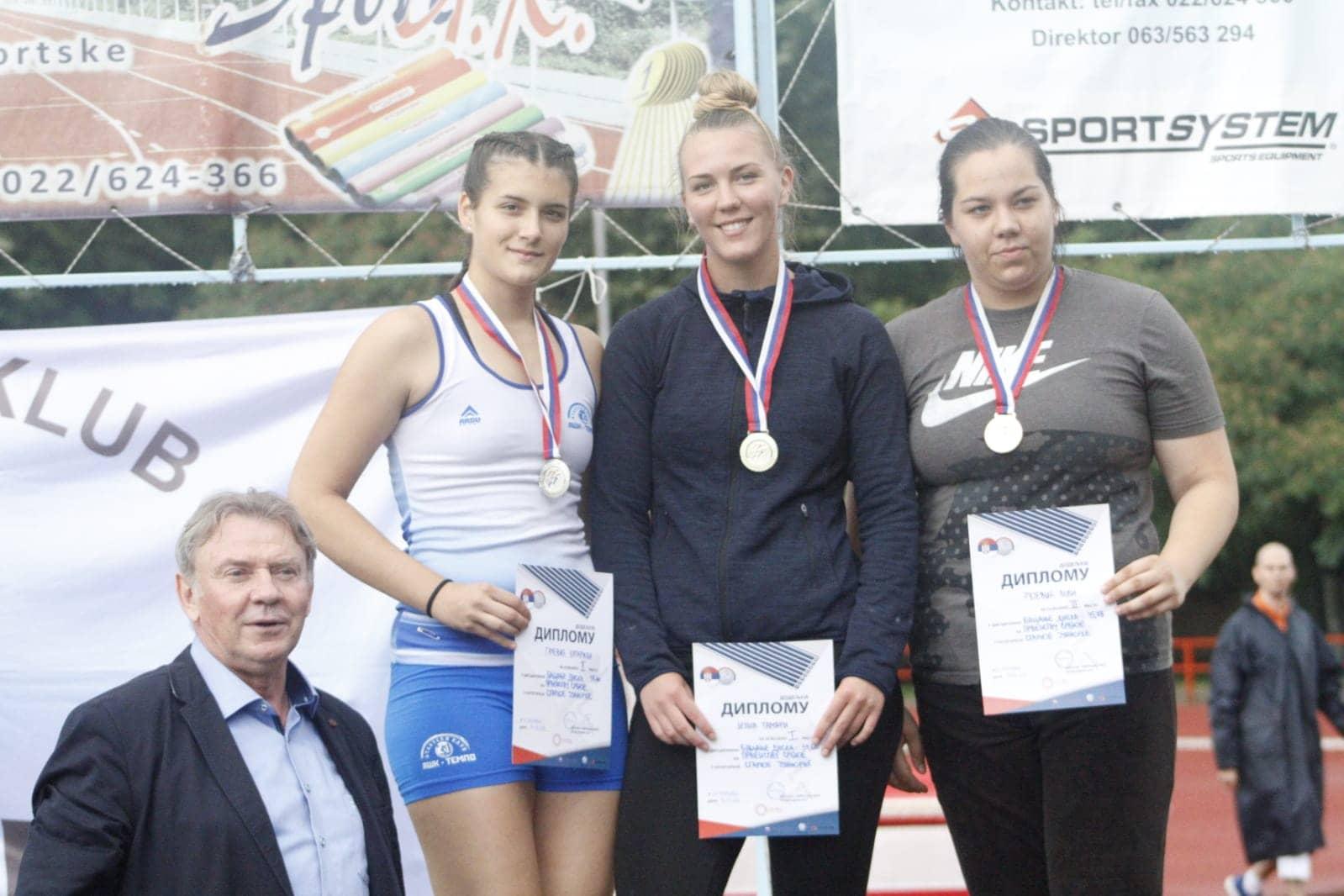 Prvenstvo Srbije za juniore, 16.6.2018., Sremska Mitrovica