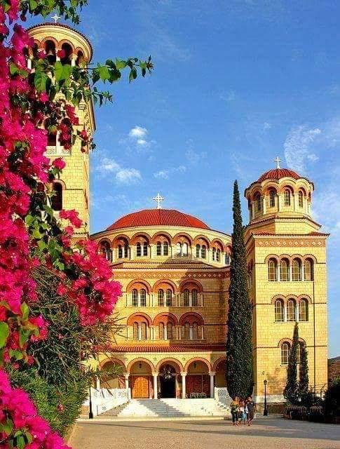 Hram Svetog Nektarija na ostrvu Egina u Grckoj