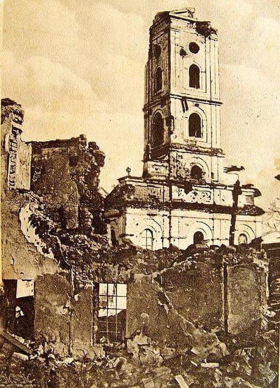 ŠABAC - GRAD Heroj Razorena crkva u Šapcu